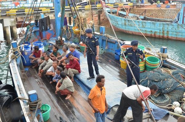 Seius Berantas Illegal Fishing Kkp Tangkap Empat Kapal Ikan Asal