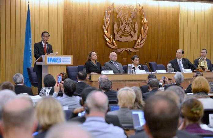 9c85f8f6c0866 Pidato Presiden Jokowi Di Forum IMO   Maritimedia